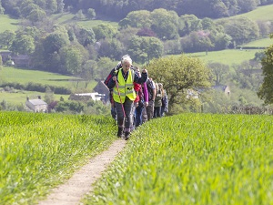 Chesterfield area walking festival 2016